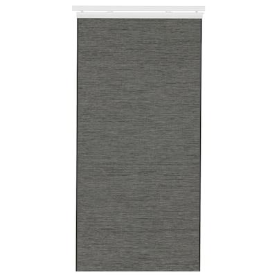 FÖNSTERVIVA Panel-zavesa, tamnosiva, 60x300 cm