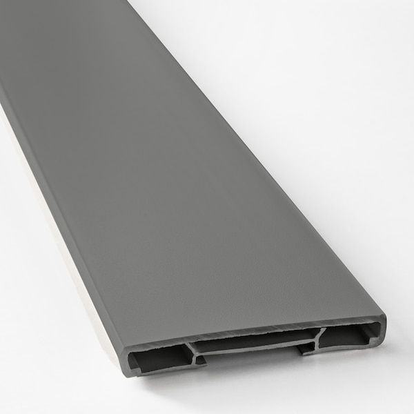 FÖRBÄTTRA Sokla, tamnosiva, 220x8 cm