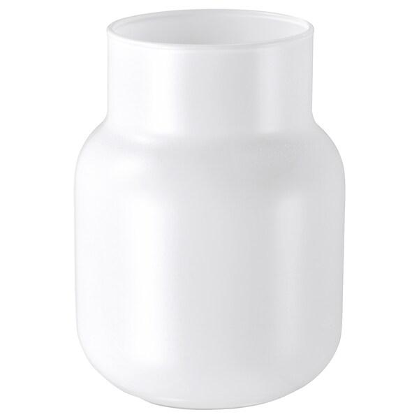 FÖRENLIG Vaza, bela, 11 cm