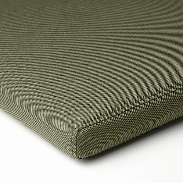 FRÖSÖN/DUVHOLMEN Jastučić za stolicu,spolja, tamna zelenobež, 50x50 cm