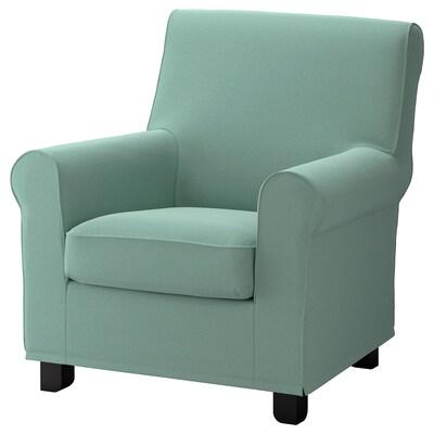 GRÖNLID Fotelja, Ljungen svetlozelena