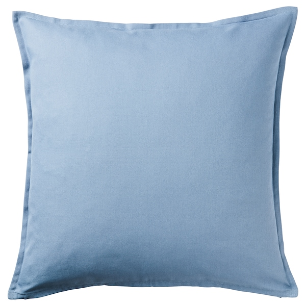 GURLI navlaka za jastučić svetloplava 50 cm 50 cm