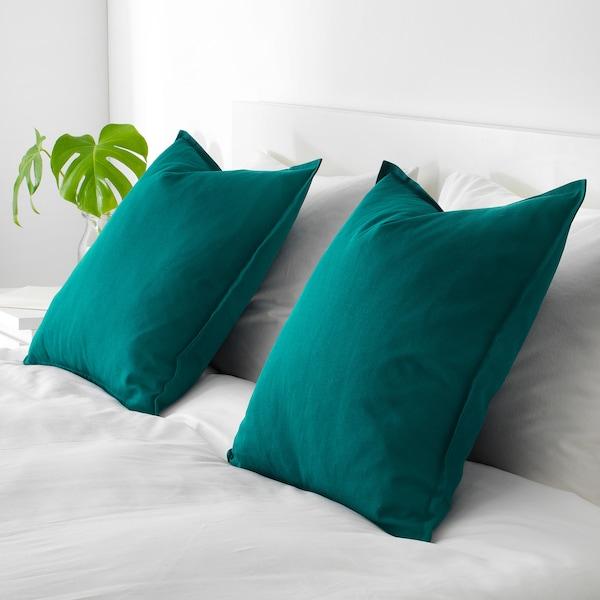 GURLI navlaka za jastučić tamnozelena 50 cm 50 cm