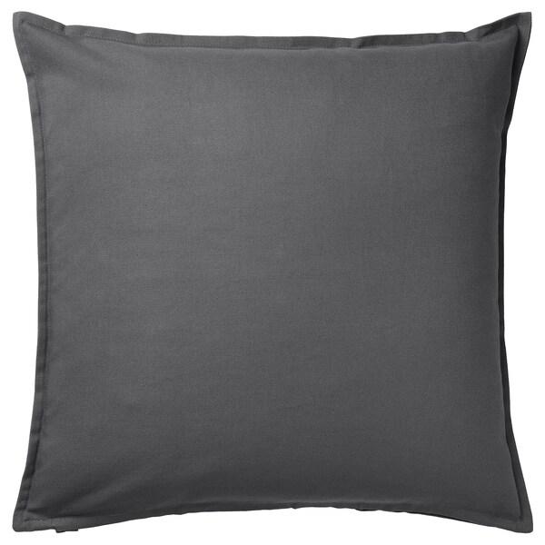 GURLI Navlaka za jastučić, tamnosiva, 50x50 cm