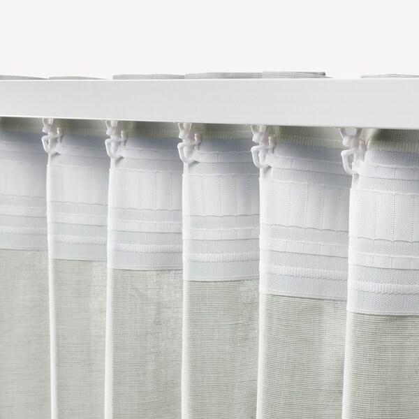 HANNALILL Zavese, 1 par, svetlozelena, 145x300 cm