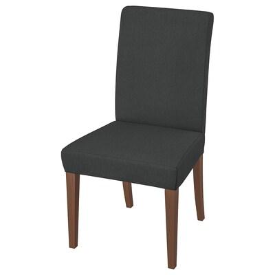 HENRIKSDAL Stolica, smeđa/Dansbo tamnosiva
