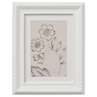 HIMMELSBY Ram, bela, 13x18 cm