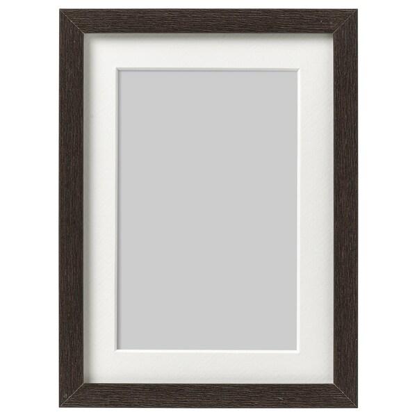 HOVSTA Ram, tamnosmeđa, 13x18 cm