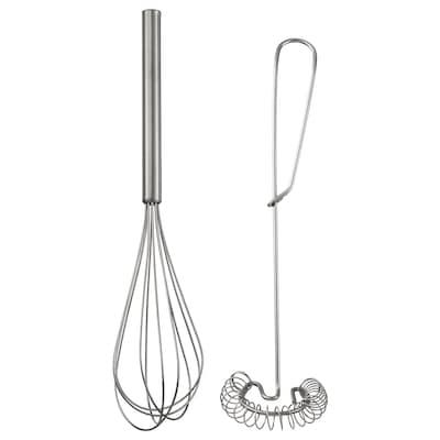 IDEALISK Set žica za mućenje, 2 kom., nerđajući čelik