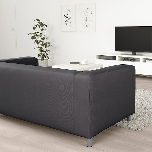 KLIPPAN Sofa dvosed, Kabusa tamnosiva