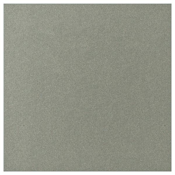 KLUBBUKT Vrata sa šarkama, sivozelena, 60x60 cm