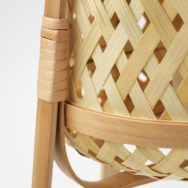 KNIXHULT stona lampa bambus 13 W 37 cm 26 cm 2.0 m