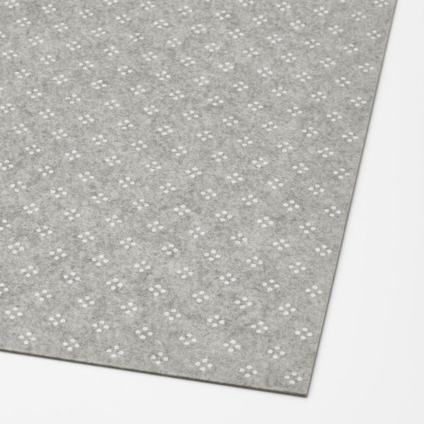 KOMPLEMENT Podloga za fioku, svetlosiva dezenirano, 90x53 cm