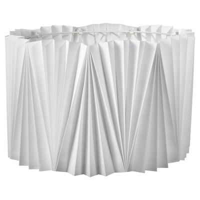KUNGSHULT Abažur, plisirano bela, 42 cm