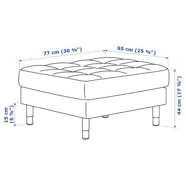 LANDSKRONA Tapecirana stoličica, Grann/Bomstad zlatnosmeđa/metal