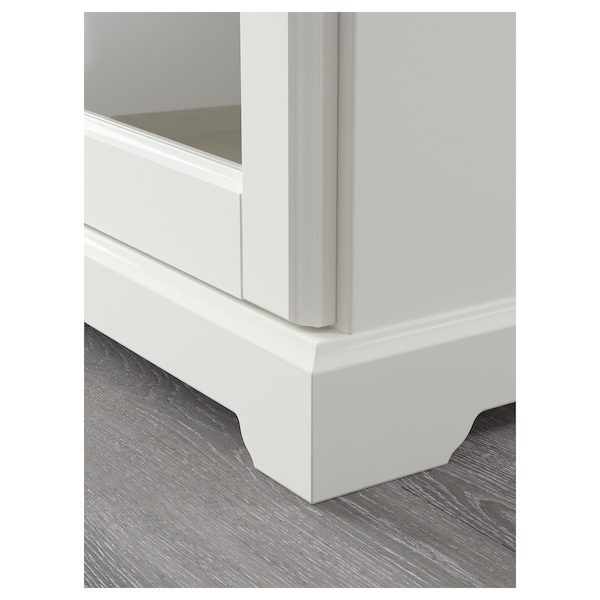 LIATORP Komoda, bela, 145x87 cm
