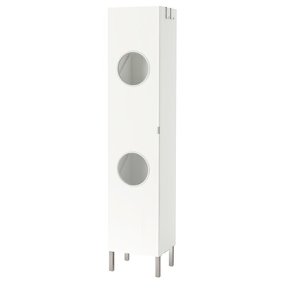 LILLÅNGEN Ormarić za veš, bela, 40x38x194 cm