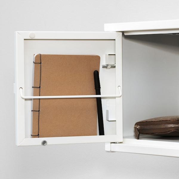 LIXHULT Kombinacija za odlaganje, bela/bela, 25x25x50 cm
