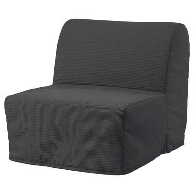 LYCKSELE HÅVET Fotelja na razvlačenje, Vansbro tamnosiva