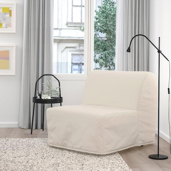 LYCKSELE MURBO Fotelja na razvlačenje, Ransta natur