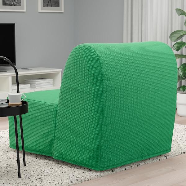 LYCKSELE MURBO Fotelja na razvlačenje, Vansbro jarkozelena