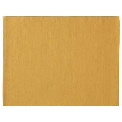 MÄRIT Stoni podmetač, tamnožuta, 35x45 cm
