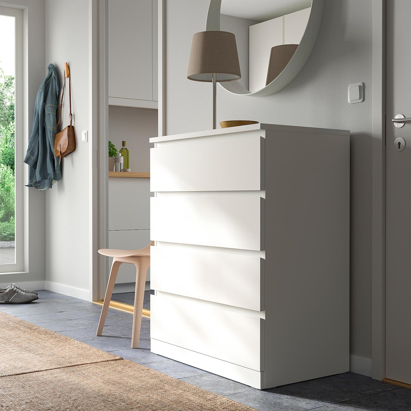 IKEA MALM Komoda s 4 fioke