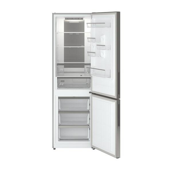 MEDGÅNG Frižider/zamrzivač, IKEA 500 samostojeće/nerđajući čelik, 219/83 l