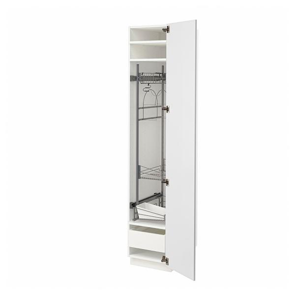 METOD / MAXIMERA Visoki element-ostava, bela/Stensund bela, 40x60x200 cm