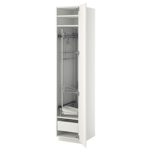 METOD / MAXIMERA Visoki element-ostava, bela/Veddinge bela, 40x60x200 cm