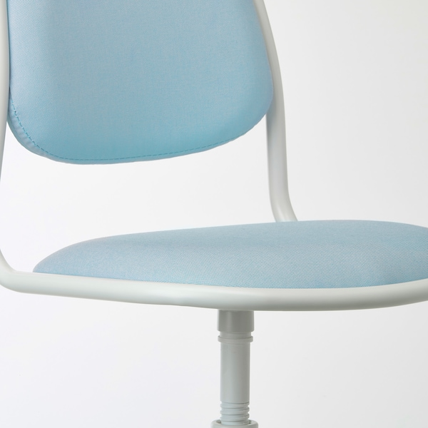 ÖRFJÄLL Dečja radna stolica, bela/Vissle plava/zelena