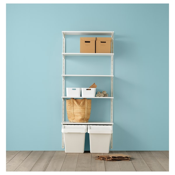 PAPPIS Kutija s poklopcem, smeđa, 25x34x26 cm