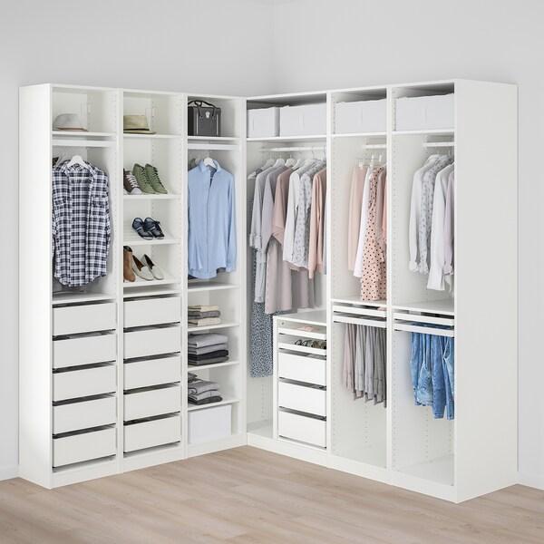 PAX Ugaoni garderober, 211/213x236 cm