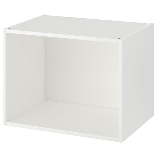 PLATSA Okvir, bela, 80x55x60 cm
