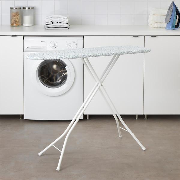 RUTER Daska za peglanje, bela, 108x33 cm