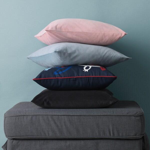 SANELA Navlaka za jastučić, svetloplava, 50x50 cm
