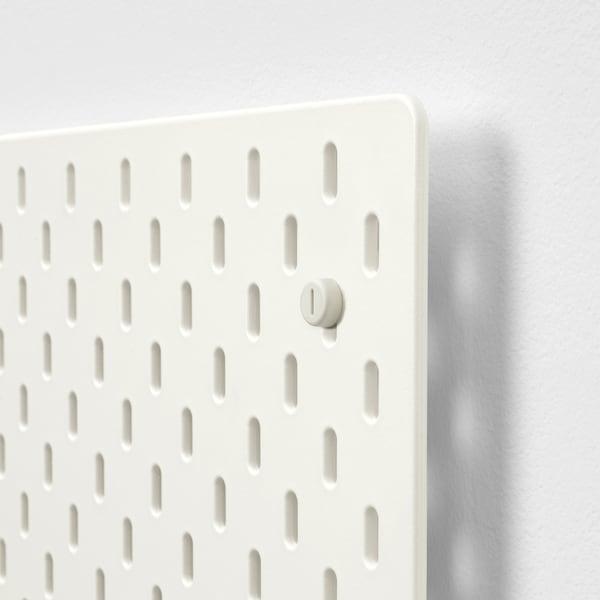 SKÅDIS Perforirana ploča, bela, 56x56 cm