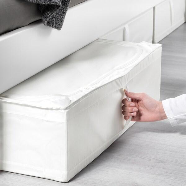 SKUBB Sanduk za odlaganje, bela, 69x55x19 cm