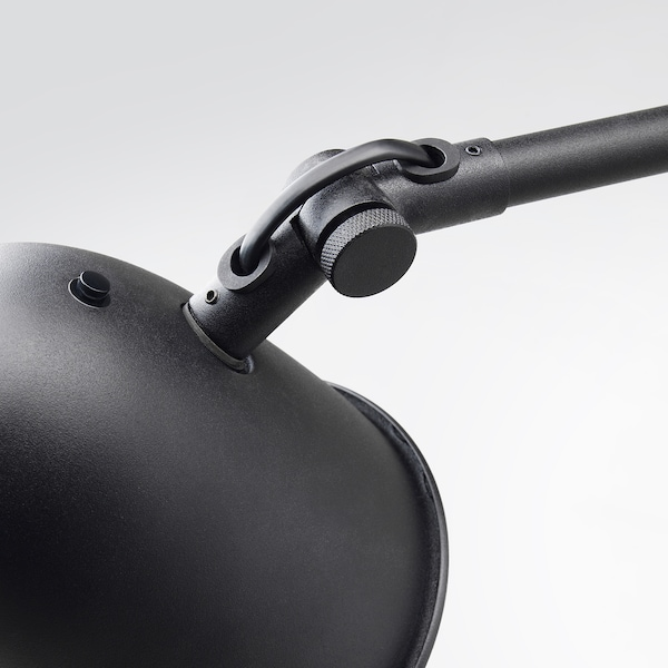 SKURUP Podna/čitaća lampa, crna