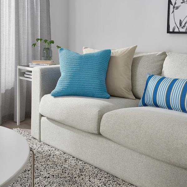 SÖTHOLMEN Navlaka za jastučić, svetloplava, 50x50 cm