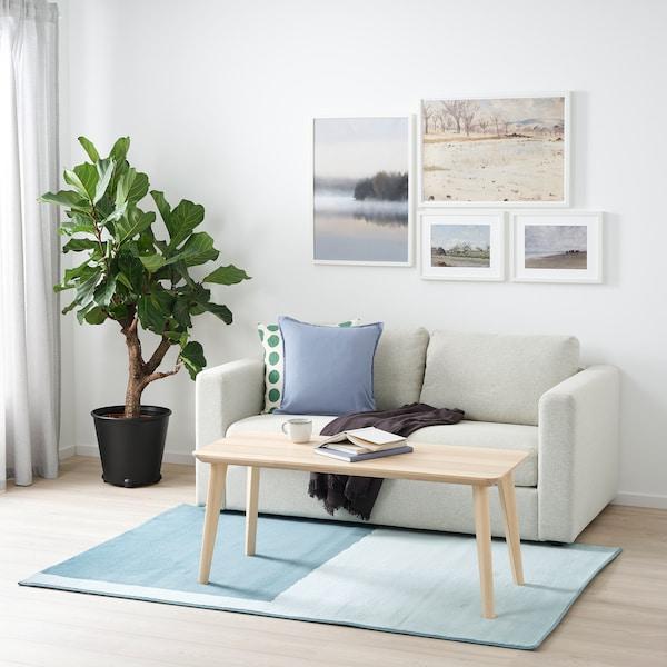 STILLEBÄK Tepih, niski flor, plava, 133x195 cm