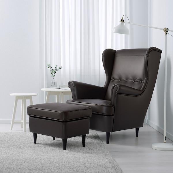 STRANDMON Tapecirana stoličica, Grann/Bomstad tamnosmeđa
