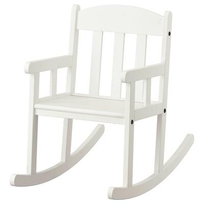 SUNDVIK Stolica za ljuljanje, bela