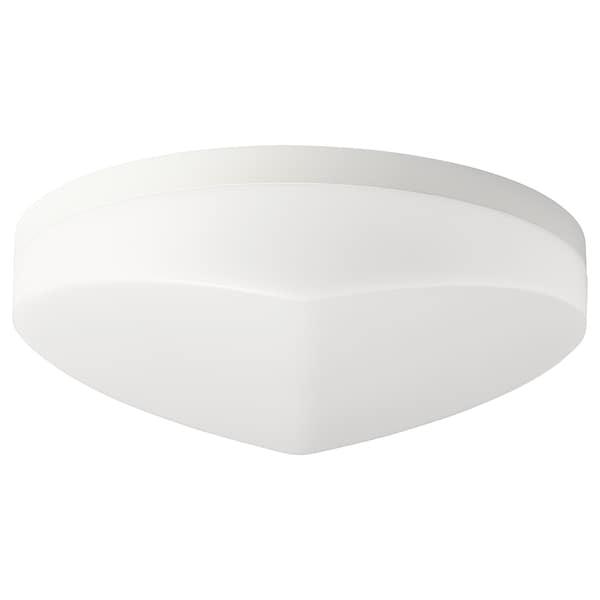 SVALLIS LED plafonjera, bela, 27 cm