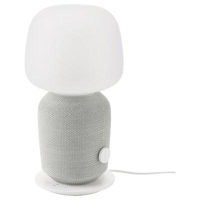 SYMFONISK Stona lampa s WiFi zvučnikom, bela