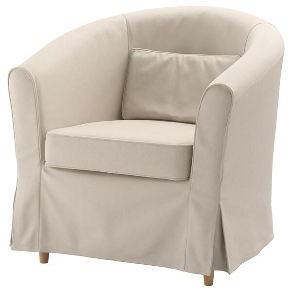 TULLSTA Navlaka fotelje, Lofallet bež