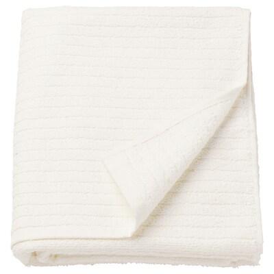 VÅGSJÖN Veliki peškir za kupanje, bela, 100x150 cm