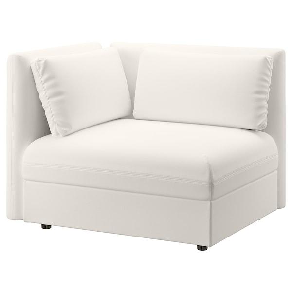 VALLENTUNA Modul. sofa ležaj s nasl. za leđa, Murum bela
