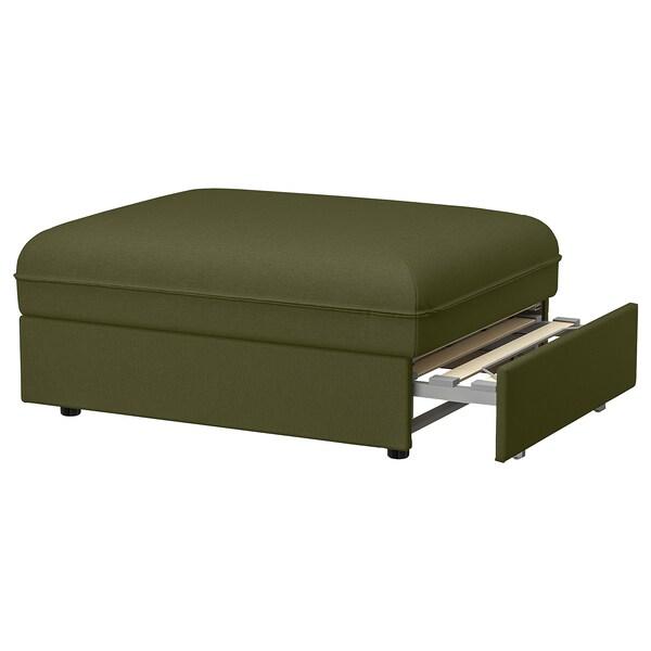 VALLENTUNA Modularni sofa ležaj, Orrsta maslinastozelena