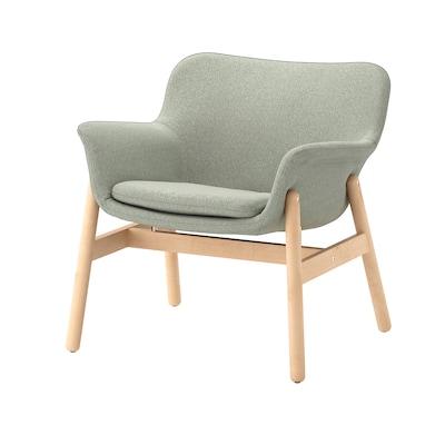 VEDBO Fotelja, Gunnared svetlozelena